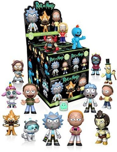 Funko Mystery Mini Rick and Morty Series 1 One Mystery Action Figure 1 Mini Action Figures