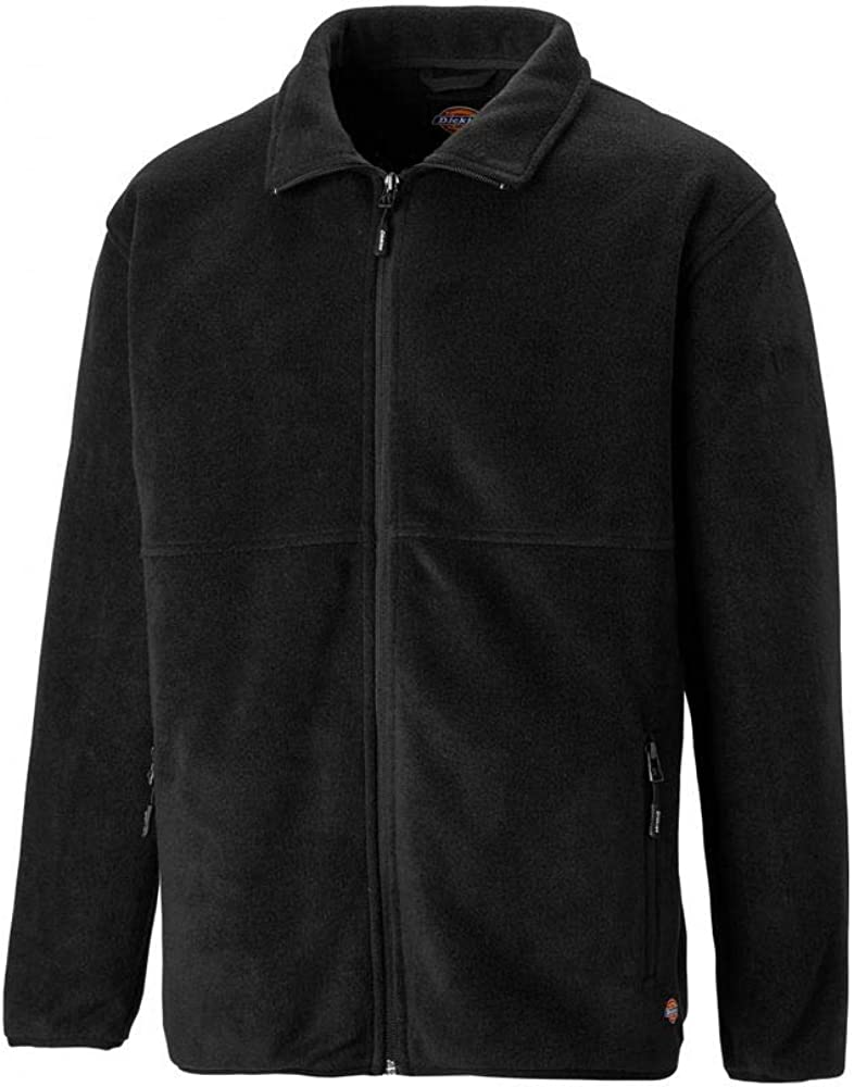 Dickies Oakfield Fleece Jacket Mens Lightweight Durable Work JW83015