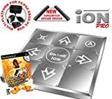 Dance Dance Revolution Limited Edition iON Pro Metal Dance Pad for PS2 + Dance Dance Revolution DDR