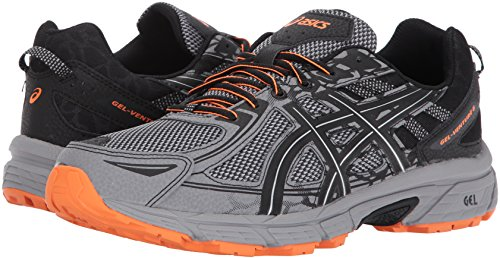 ASICS Mens Gel-Venture 6 Running Shoe, Frost Grey/Phantom/Black, 7 Medium US by ASICS (Image #6)