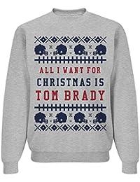 Ugly Sweater Mrs. Brady: Unisex Jerzees Crewneck Sweatshirt