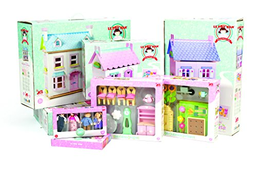 Amazon.com: Le Toy Van Dollhouse Furniture U0026 Accessories, Master Bedroom:  Toys U0026 Games