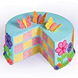 Wilton Round Checkerboard Cake Pan Set, Surprise