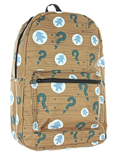 Wendy Gravity Falls Costume (Disney XD Gravity Falls Dipper Pines Tree and Question Mark Symbol All Over Print Laptop)
