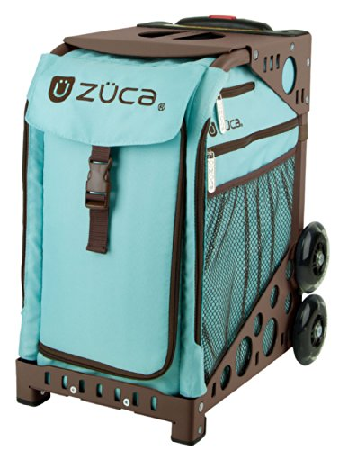ZUCA Bag Calypso Insert & Brown Frame w/Flashing Wheels ()