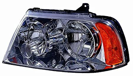 Depo 331-1189R-ASH Lincoln Navigator Passenger Side Replacement Headlight Assembly 02-00-331-1189R-ASH