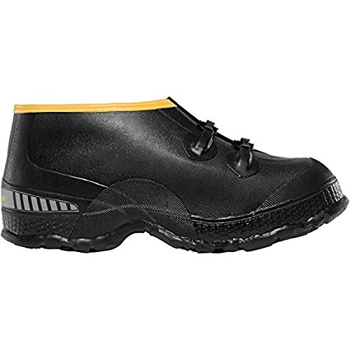 "Lacrosse ZXT Buckle Deep Heel Overshoe 5"" Black (00267090) 
