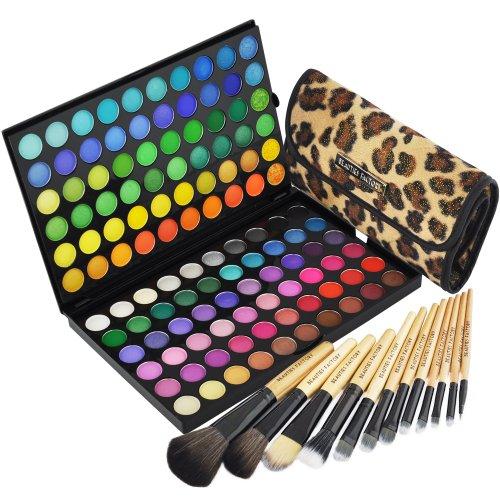 BF 120 Color Eyeshadow Palette  & 12pcs Makeup Brush Set