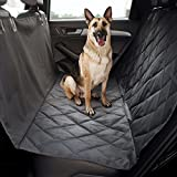 Animals Favorite Pet Seat Cover, Quilted Non-Slip Technology, Waterproof, Hammock Dog Seat Protector for Cars, SUVs & Vans