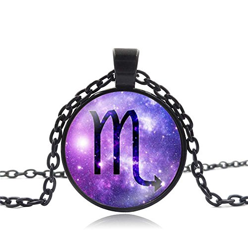 Miweel Hot Twelve Constellation Time Jewel Pendant Necklaces (Harry And David Catalogue)