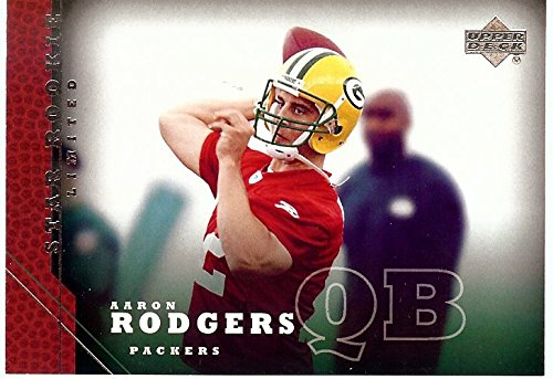 Aaron Rodgers 2005 Upper Deck Star Rookie Card Limited RC Packers #202