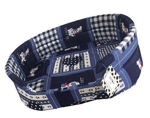 Ducomi® - Fufy - Cama para perros y gatos en tejido Oxford, cuna suave para mascotas, fácil de lavar: Amazon.es: Productos para mascotas