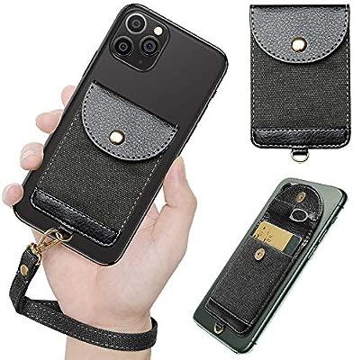 COCASES - Tarjetero para teléfono móvil, Ultrafino, con Bolsillo ...