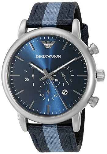 Emporio-Armani-Mens-AR1949-Dress-Blue-Nylon-Watch