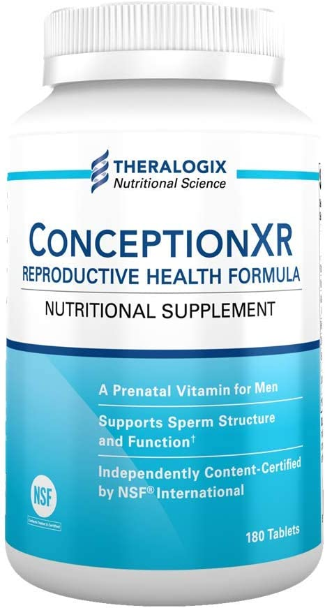 ConceptionXR Reproductive Health Male Fertility Supplements 90 Day Supply