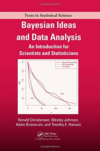Bayesian Ideas and Data Analysis: An Introduction for Scientists and Statisticians (Chapman & Hall/CRC Texts in Stat