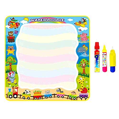 ERLOU Educational Toy Children Doodle Mat Magic Mat Kids Painting Writing Doodle Board Toy Color Doodle Drawing Boys Girls Gifts (A 1)
