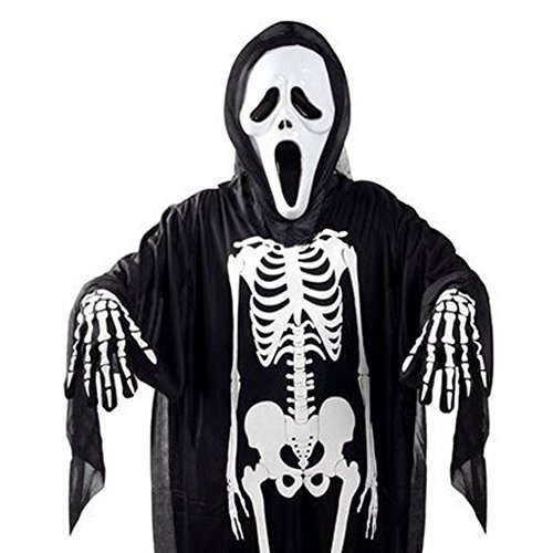 Elegant libra Skeleton Costume Ghost Suit for Halloween Party Show Costume - Mtv Scream Costumes For Kids