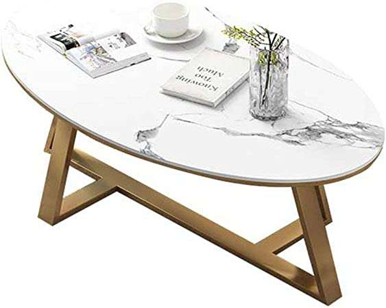 Dxjni Coffee Tables Wrought Iron Coffee Table Nordic Marble