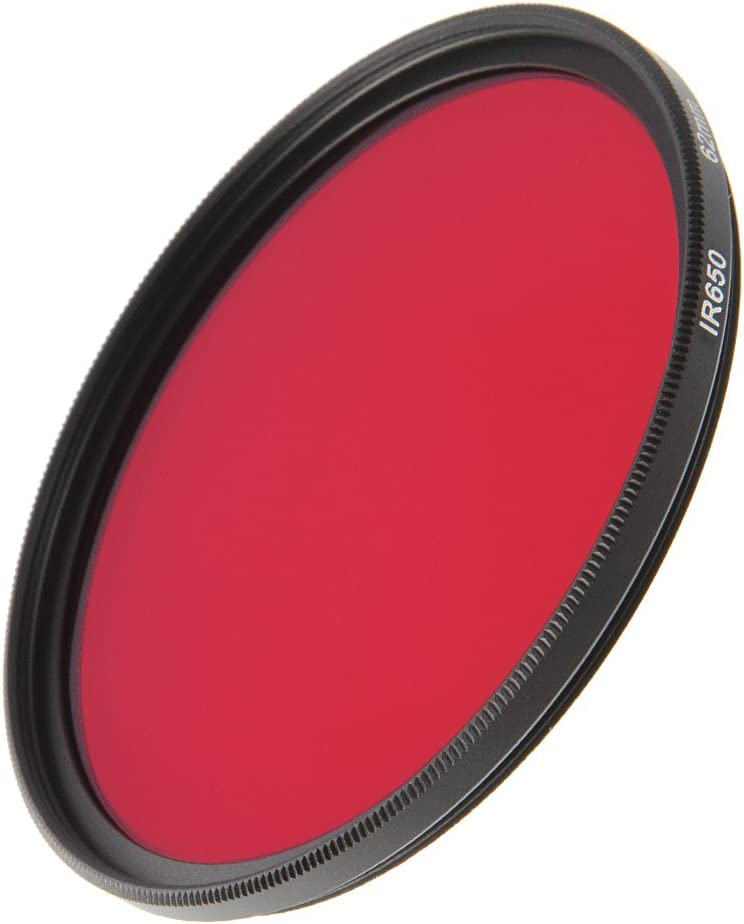 FOTGA 43mm Infrared Infra-red IR Pass X-Ray 650nm Lens Filter for Sony Nikon Canon Pentax Olympus Leica Samsung Fujifilm DSLR Camera