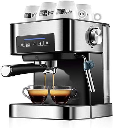 Cafetera automática, máquina de espresso de 20 bares, cafetera automática a presión con espuma de leche, cafetera capuchino: Amazon.es: Hogar