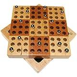Elbert Mini Wooden Travel Sudoku Board Game Set