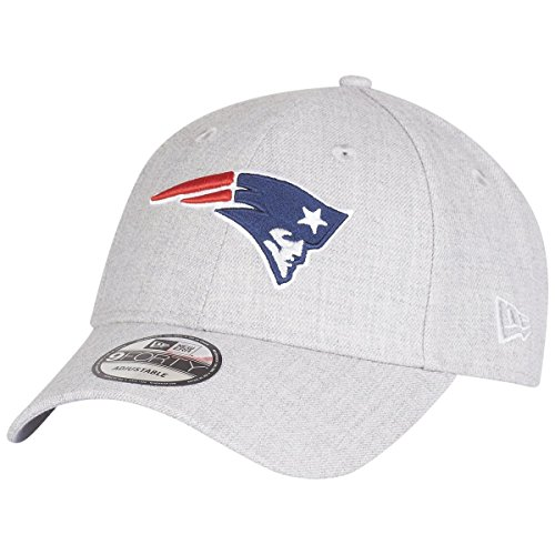 陪審アンテナ事実上ニューエラ (New Era) 9フォーティ キャップ - ニューイングランド?ペイトリオッツ (New England Patriots) ヘザー グレー
