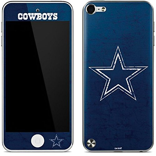 NFL Dallas Cowboys iPod Touch (5th Gen&2012) Skin - Dallas Cowboys Distressed Vinyl Decal Skin For Your iPod Touch (5th Gen&2012)
