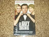 Guy Thing [VHS]