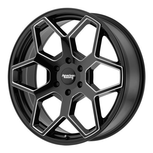 American Racing AR916 20x8.5 Black Tint Wheel / Rim 6x5.5 with a 35mm Offset and a 106.25 Hub Bore. Partnumber AR91628568935