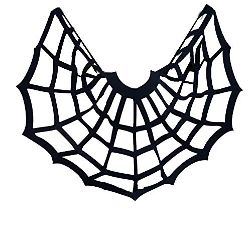 pinda Halloween Costume Bats Poncho with Spider Web Cape (one Size, 8088black)]()