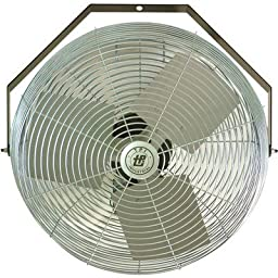 TPI Corporation U18-TE Industrial Workstation Fan, Mountable, Single Phase, 18\