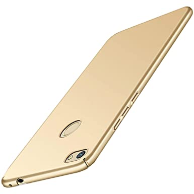 Qissy Carcasa para Huawei P8 Lite (2017) / Honor 8 Lite/Nova Lite Incluido Anti-Scratch Anti-Huella Dactilar a Prueba de Choque Suave Protective Case ...
