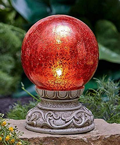 The Lakeside Collection Solar Gazing Ball (Stand Ball Solar Gazing)