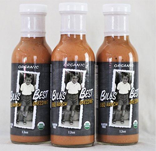 Bill's Best Organic BBQ Ranch Dressing 3 Pack