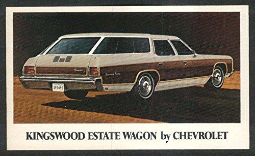 1971 Chevrolet Kingswood Estate Wagon postcard