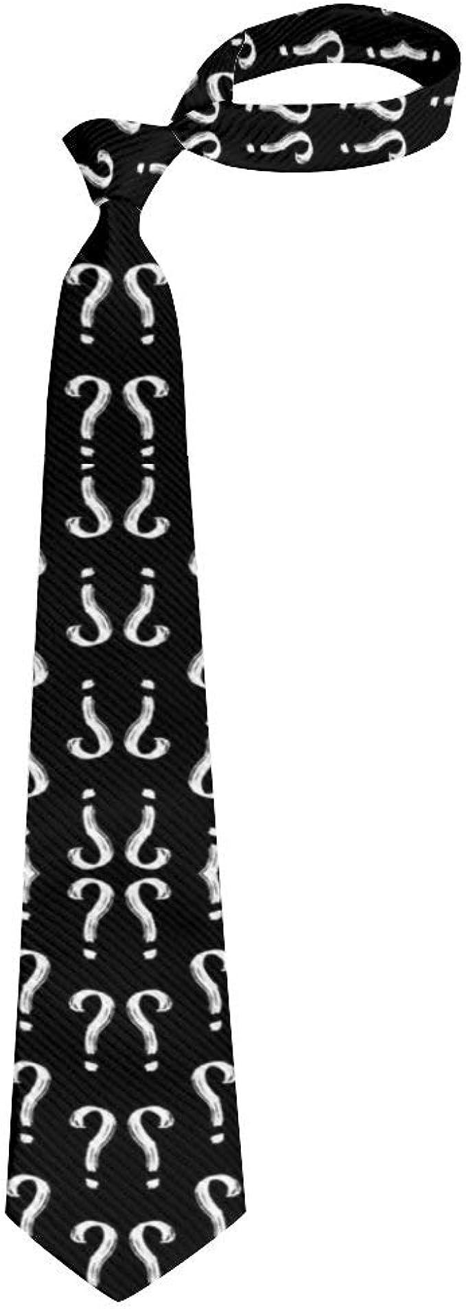 Boys Fashion 3D Printed Mens Ties Teens Neckties Gift for Men