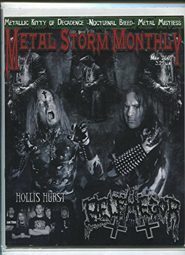 Metal Storm Monthly May 2007 Hollis Hurst Metal Mistress metal fanzine MBX66 -