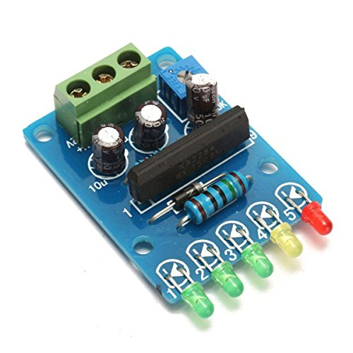 VU Meter Driver Module Audio Level Indicator Power Meter Board 5 LED Level Indicating - Arduino Compatible SCM & DIY Kits