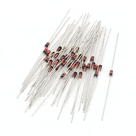 uxcell Rectifier Diode 1.5A 1000V Axial Electronic Silicon Diodes 15pcs for 1N5399