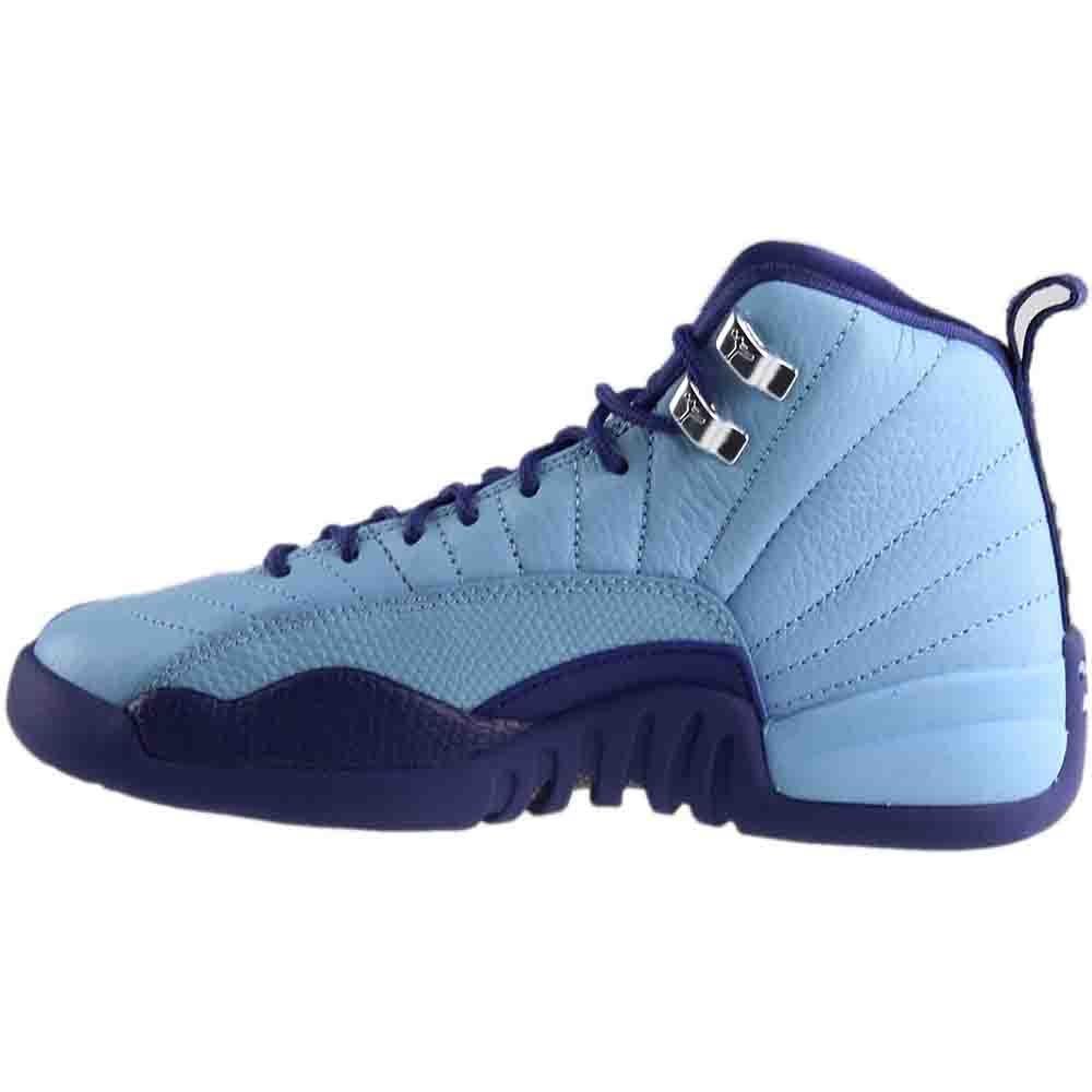 check out 3b17e ad286 Amazon.com  Nike Air Jordan 12 Retro GG Metallic SilverPurple Basketball  Shoe (7)  Basketball