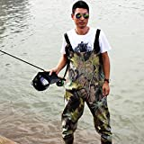 Sougayilang Boot-Foot Chest Waders Waterproof Fishing Hunting Boot Waders...