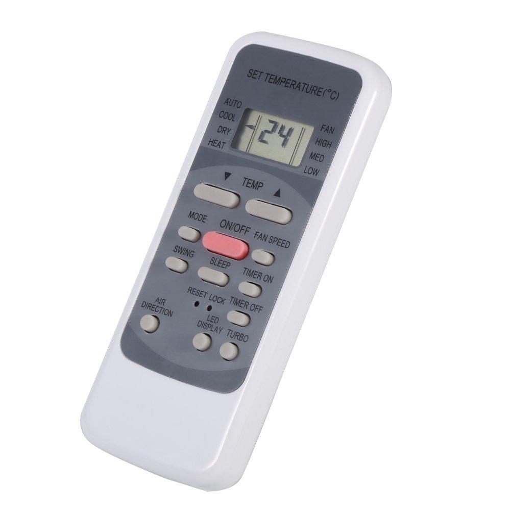 Universal Air Conditioner Remote Control Fit for Midea Brand R51M//E Remote Control Replacement for Midea Air Conditioner
