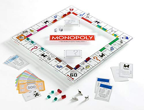 (Monopoly Glass Edition Game)