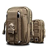 Arcraft(TM) 2 Styles Camo MOLLE Velcro Tactical Bag Pack - With Military 1000D Material
