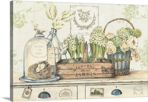 Stefania Ferri Premium Thick-Wrap Canvas Wall Art Print entitled Dan mon Jardin 48