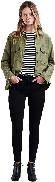 Calça Jeans Levis Feminina 720 High Rise Super Skinny Preta