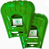 LeafPaws Leaf Scoops Hand Rake: Ergonomic Leaf Grabber Claws for Leaves, Lawn, Grass Clippings, Yard Debris: 1 Pair is 2 Hand Rakes (1 Pair)