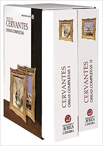 Estuche Obras completas Cervantes Vols. I y II Bibliotheca ...