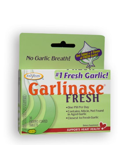 Enzymatic Therapy Garlinase Fresh, 30 Tablets (Pack of 2) Review